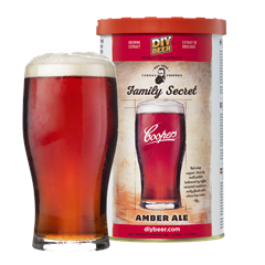 Coopers Family Secret Amber Ale Thomas Cooper's Series til 23L