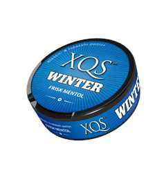 XQS Winter Portion - Frisk Mentol Nikotinfri snus