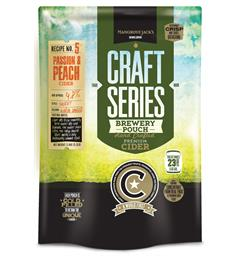 Passion & Peach Cider Craft Series 2,4kg