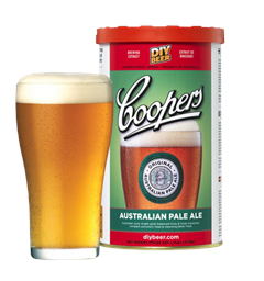 Coopers Australian Pale Ale Coopers International Series til 23L