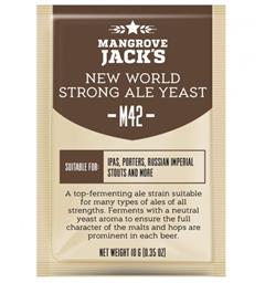 M42 New World Strong Ale -Mangrove Jacks Tørrgjær til øl